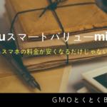 GMOとくとくBBWiMAXのauスマートバリュー