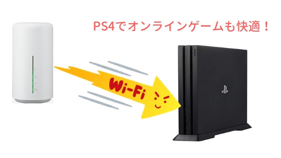WiMAXでPS4
