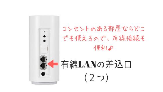 home01有線接続